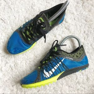 Nike Victory Waffle Spikeless Running Shoes Style 654692 417 Size 4.5 Flywire